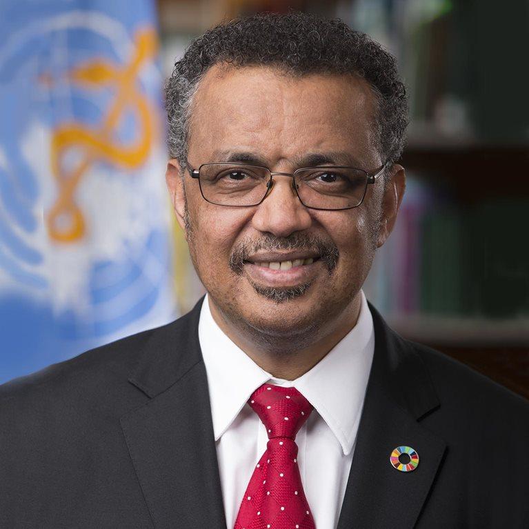 Director-General, Dr Tedros Adhanom Ghebreyesus